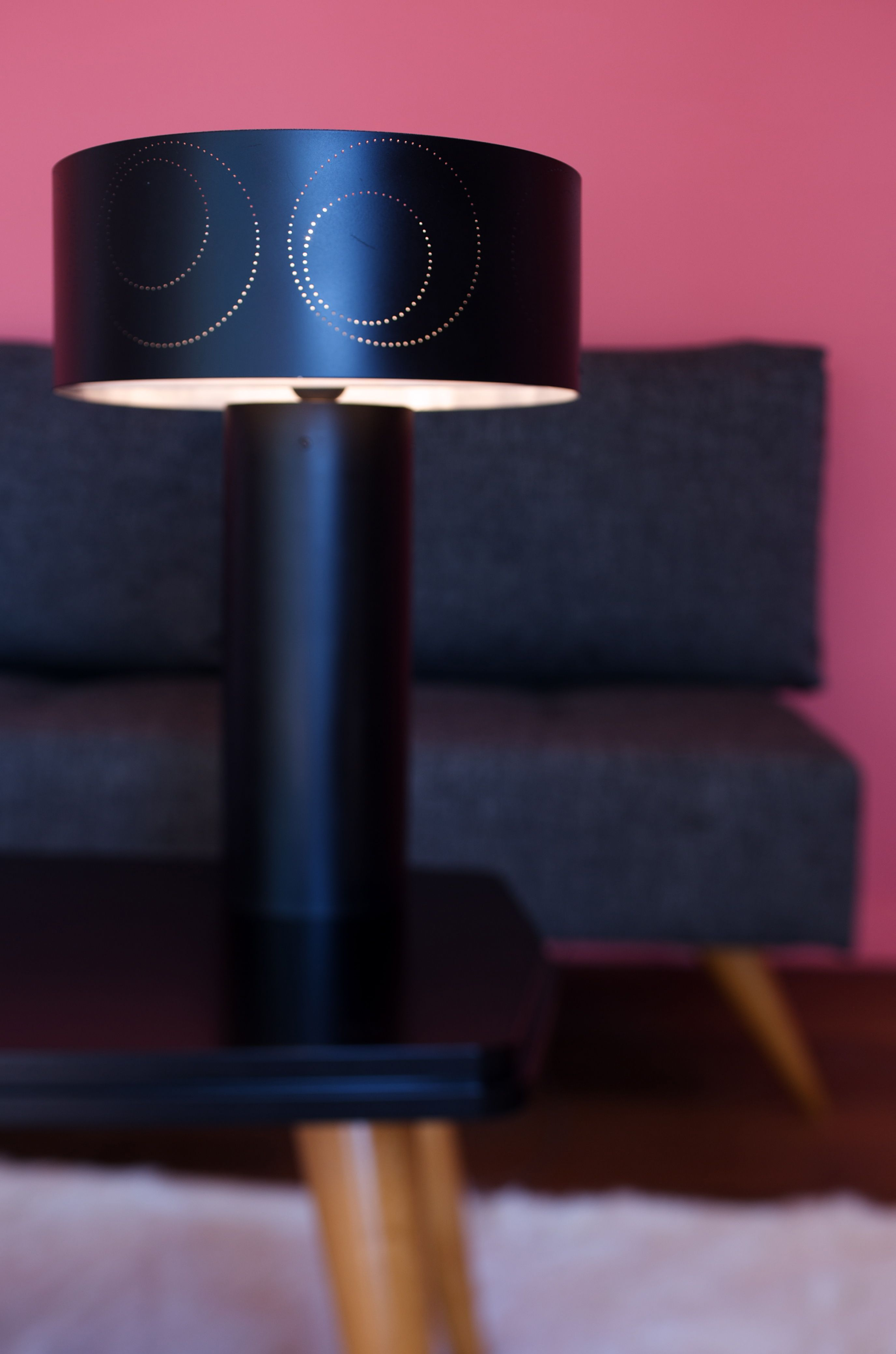 Ring of light !  table lamp