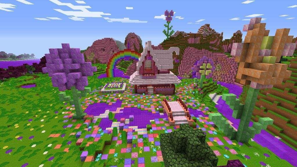 Kawaii Flower House | Minecraft Amino | Cute minecraft ...