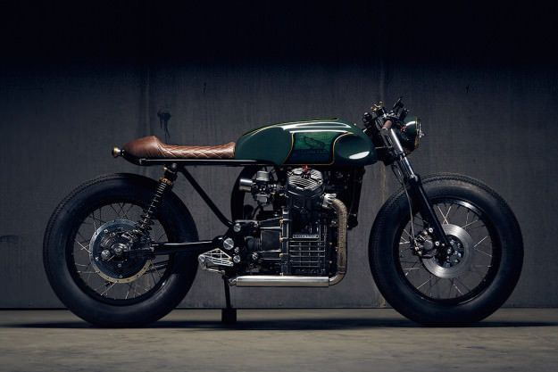 Is This The Best Looking Honda Cx500 Custom Yet Cx500 Cafe