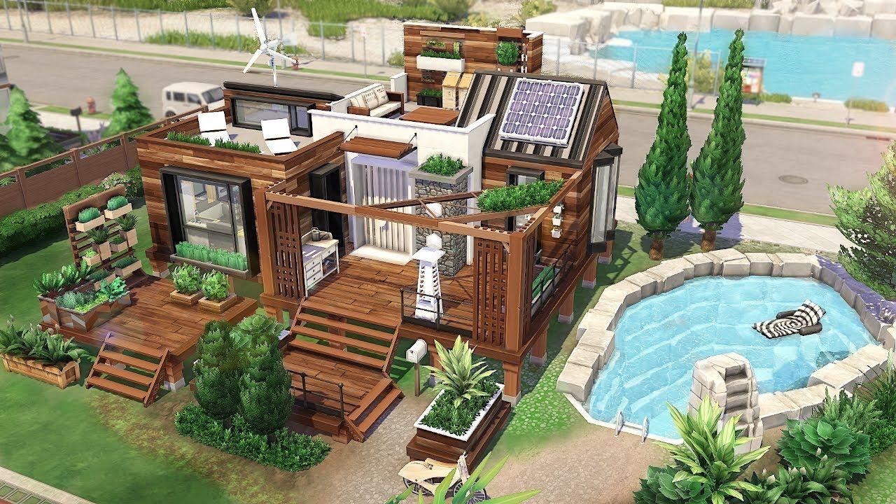 TINY ECO HOUSE 🌱