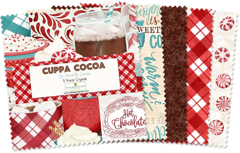Wilmington Prints Cuppa Cocoa Danielle Leone Crystals Jelly Roll Strips