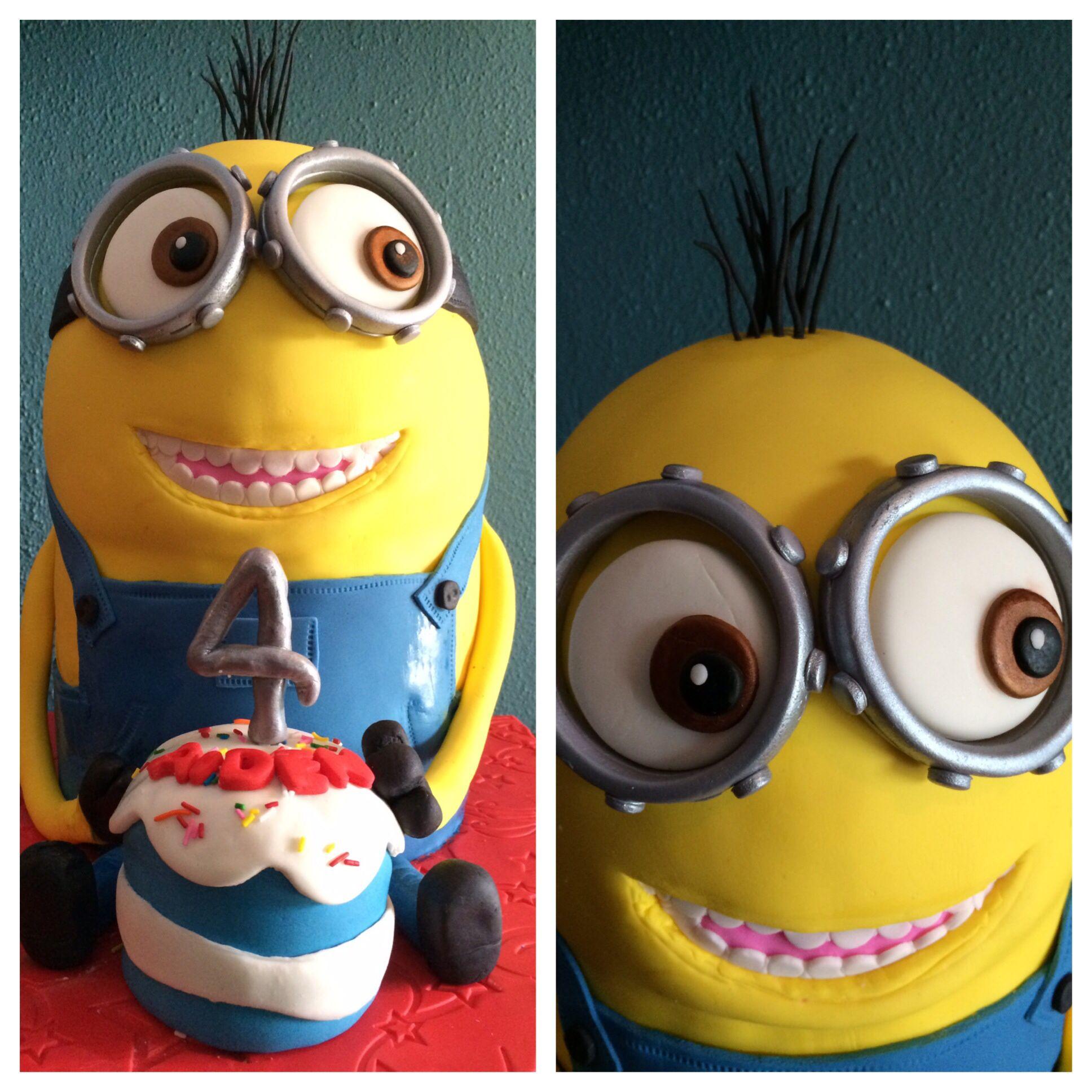Kevin the minion birthday cake Cakes Pinterest Birthday cakes