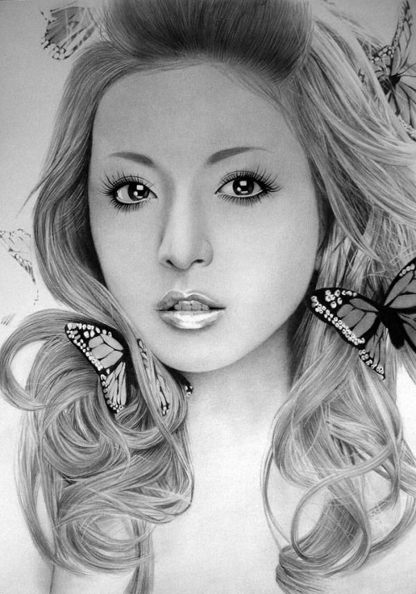 Pencil drawings by ken lee