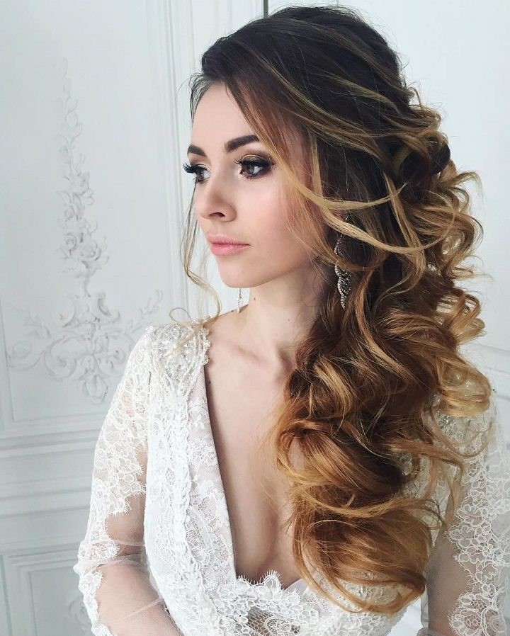 Beautiful bridal hairstyle #bridalhair #weddinghair #updos #hairstyles