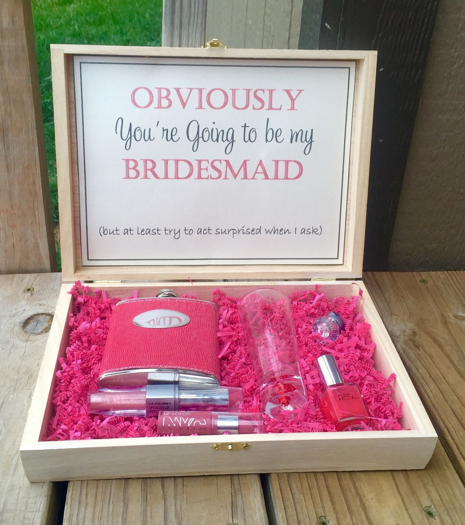 Bridesmaid Box (With Images)