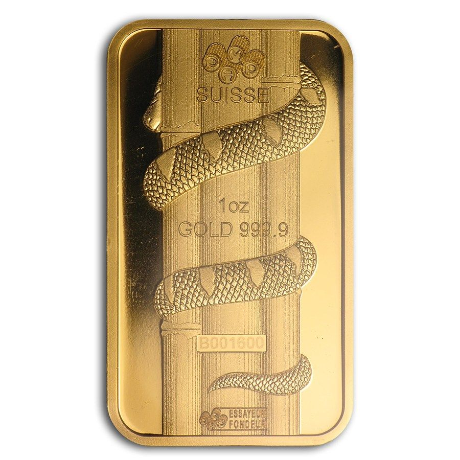 1 Oz Gold Bar Pamp Suisse Year Of The Snake Gold Bar Year Of The Snake Gold