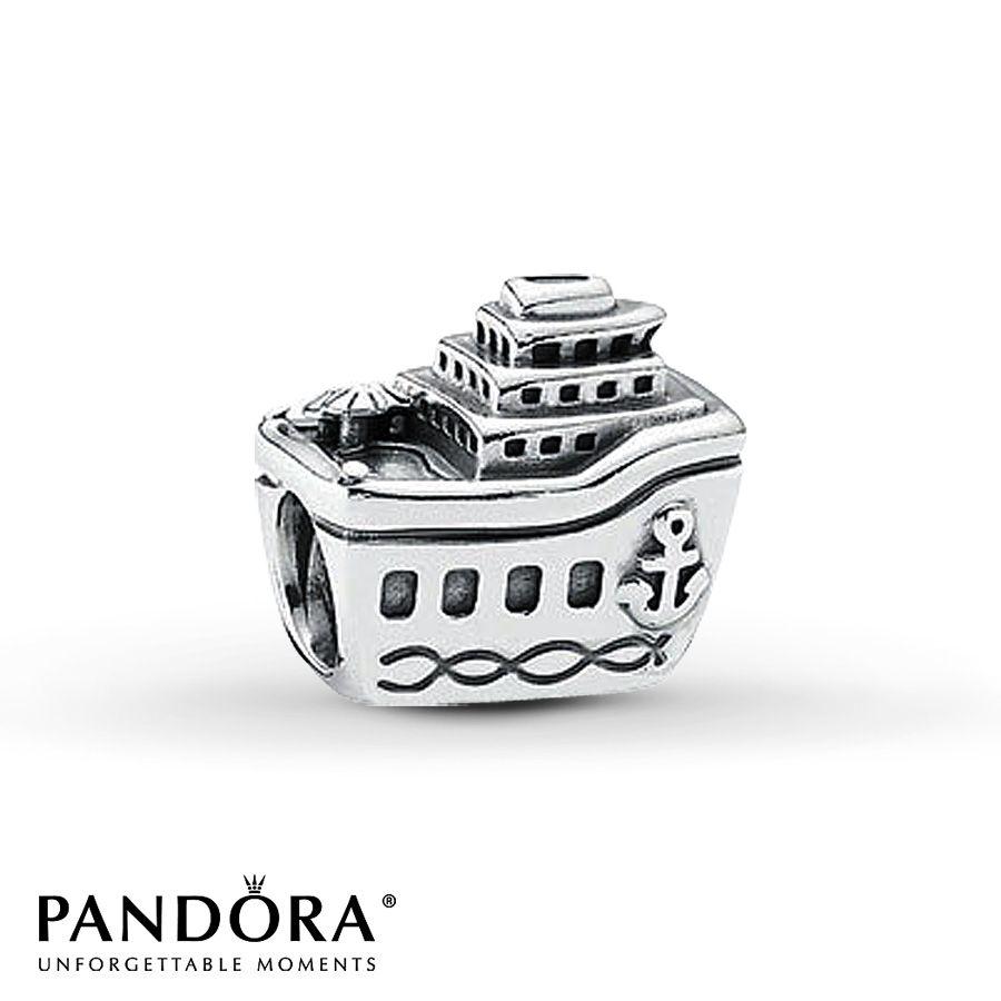 4af85c68d Pandora Charm Cruise Ship Sterling Silver | Christmas | Pandora ...