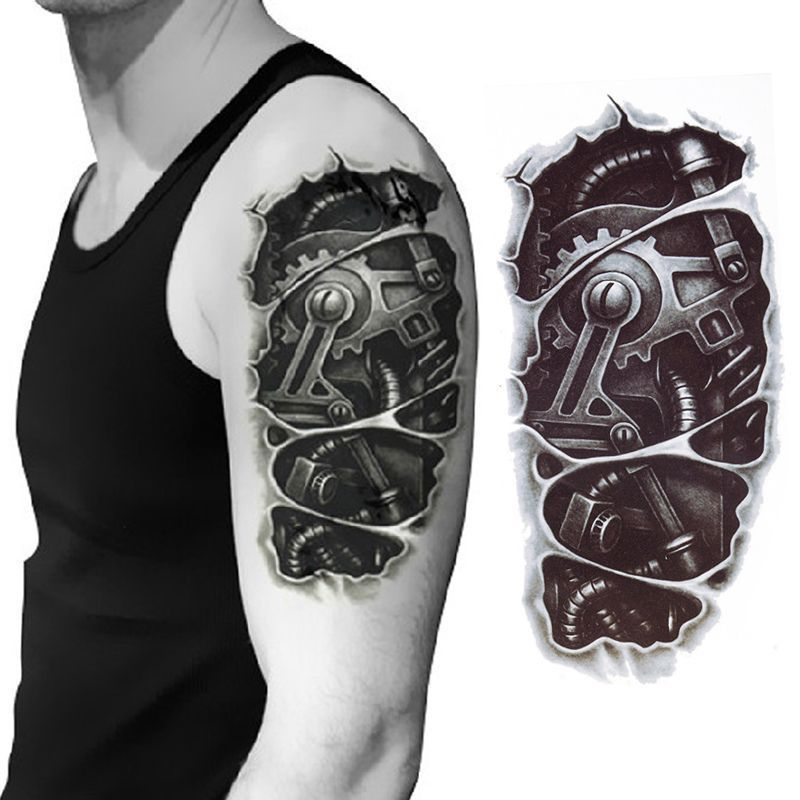 Details about new terminator tattoo temporary stickers