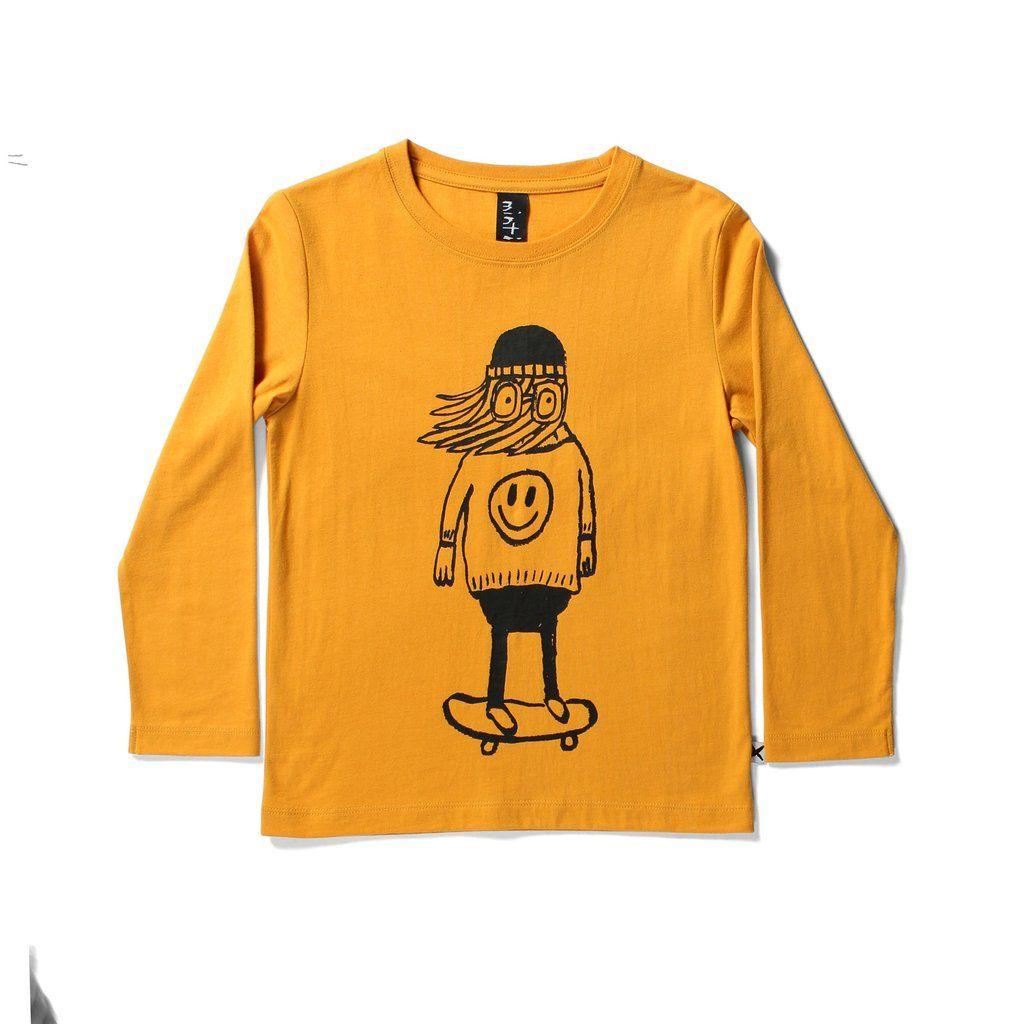 6292e27f6e429 Kido Store: Happy Skater LS Tee   A. Cool Kids Tees   Pinterest ...