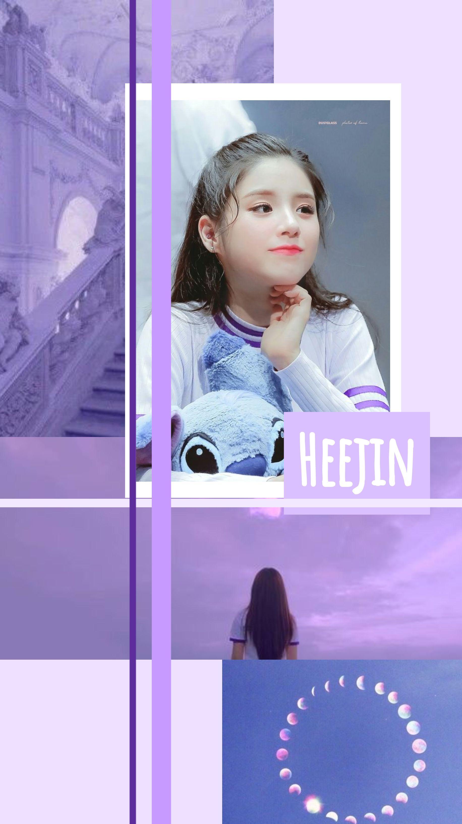Heejin Purple Wallpaper Fotografi Hujan Fotografi Malam Ungu