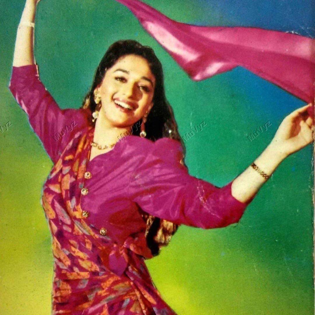 Young Madhuri Dixit