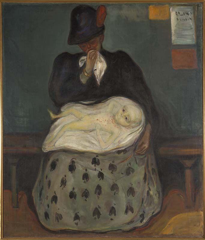Henrik Ibsens skrifter: Oppgave 3 - videregående  Munch fikk inspirasjon til dette bildet etter å ha lest Gangangere