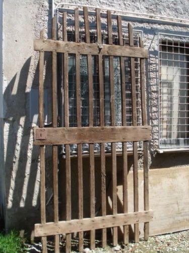 Antico Cancello In Legno Da Restaurare Mis M 1 5 X 3 H Ebay