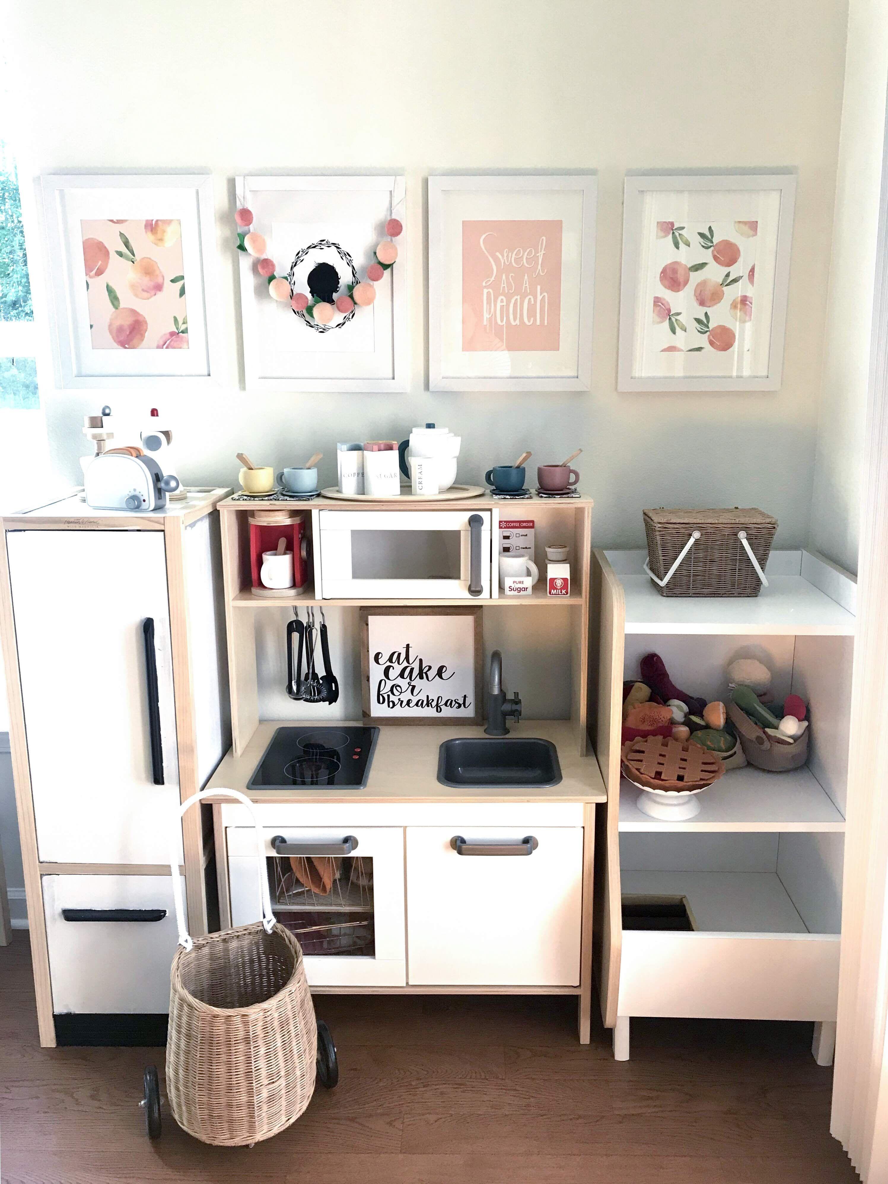 Summer Peach IKEA Play Kitchen Play kitchen, Ikea play