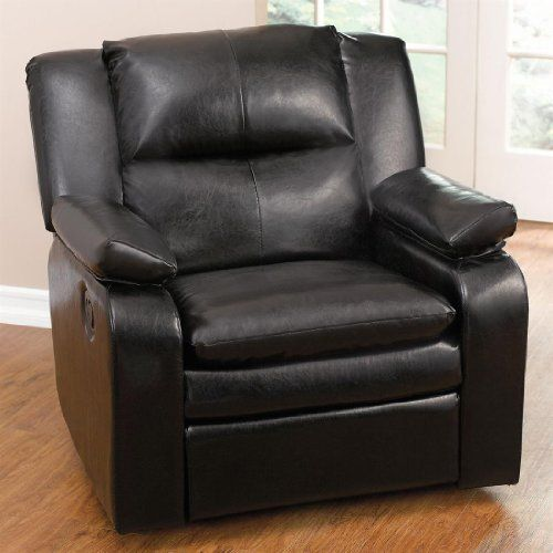 Plus Size Living Brylanehome Extra Wide Leather Look Rocker Recliner Plus Size  Living. Plus Size Living Brylanehome Extra Wide Leather Look Rocker