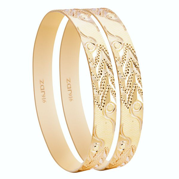 An attractive design for a perfect occasion  | Gold Bangles