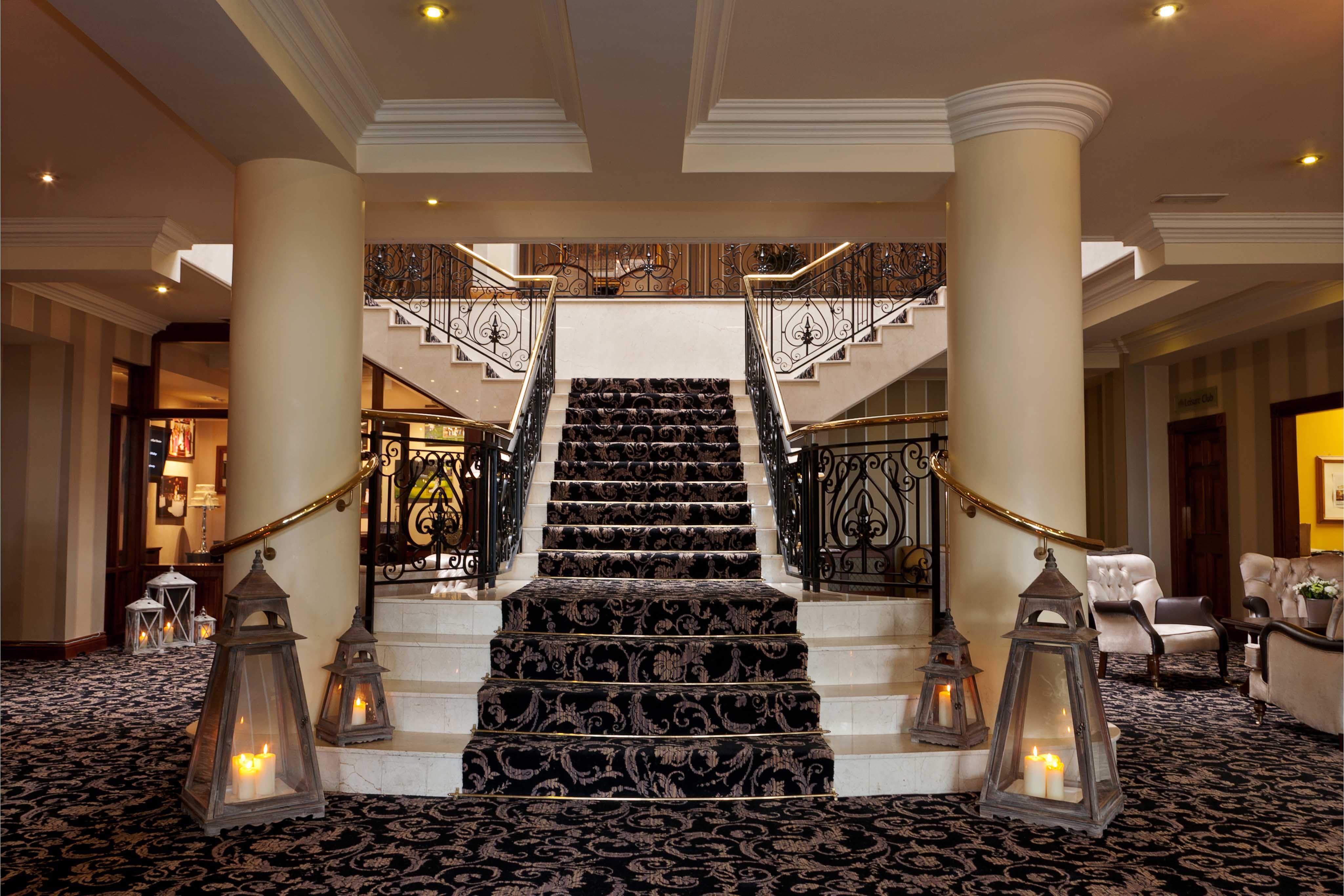 The beautiful bespoke stair case