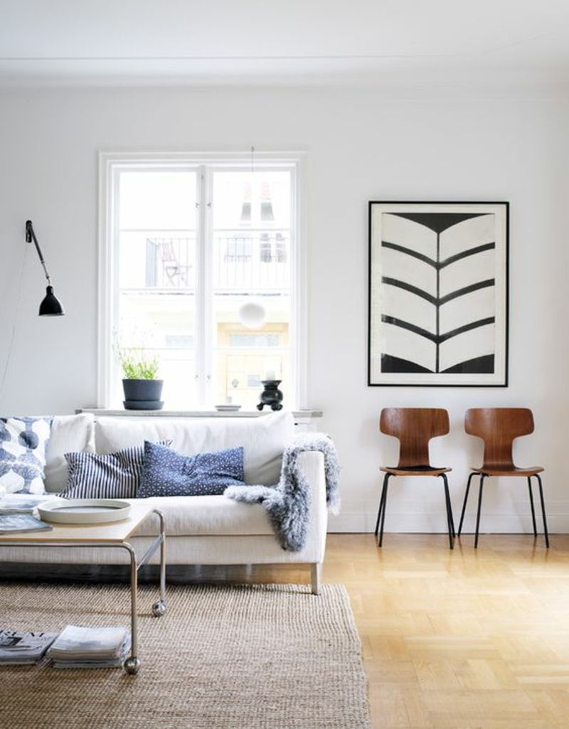 Skandinavisches Design: 120 stilvolle Ideen in Bildern | Cozy ...