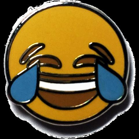 Crying Emoji Pin Emoji pin, Emoji