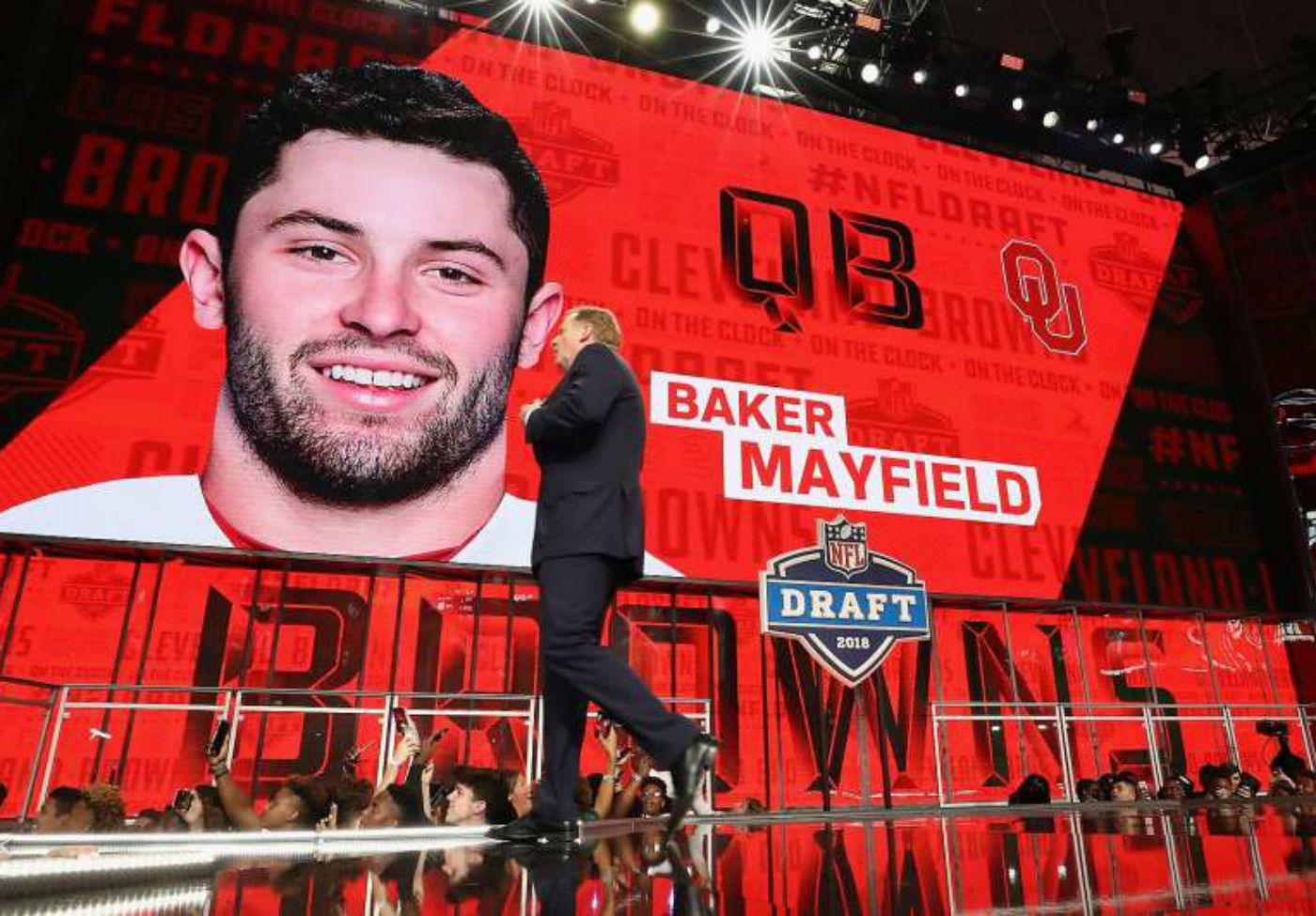 NFL Draft Round One Betting Recap, Cleveland Browns Roll