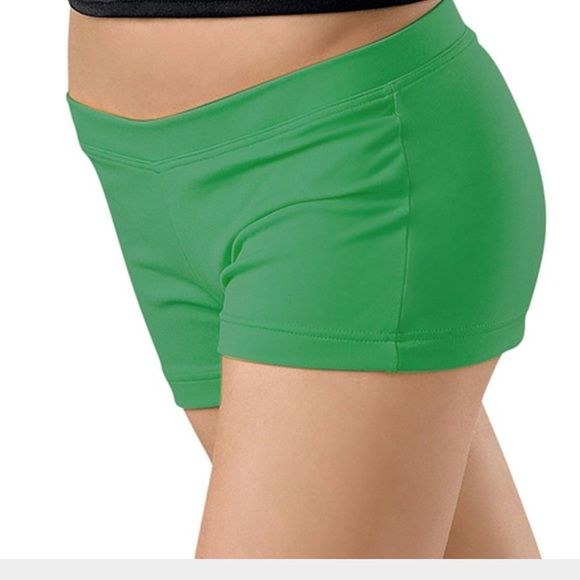 f7c586987fb9 Capezio dance short Kelly green capezio low rise dance short. These are boy  cut dance shorts. Nylon/spandex. Pic 4 is the exact color of these shorts.
