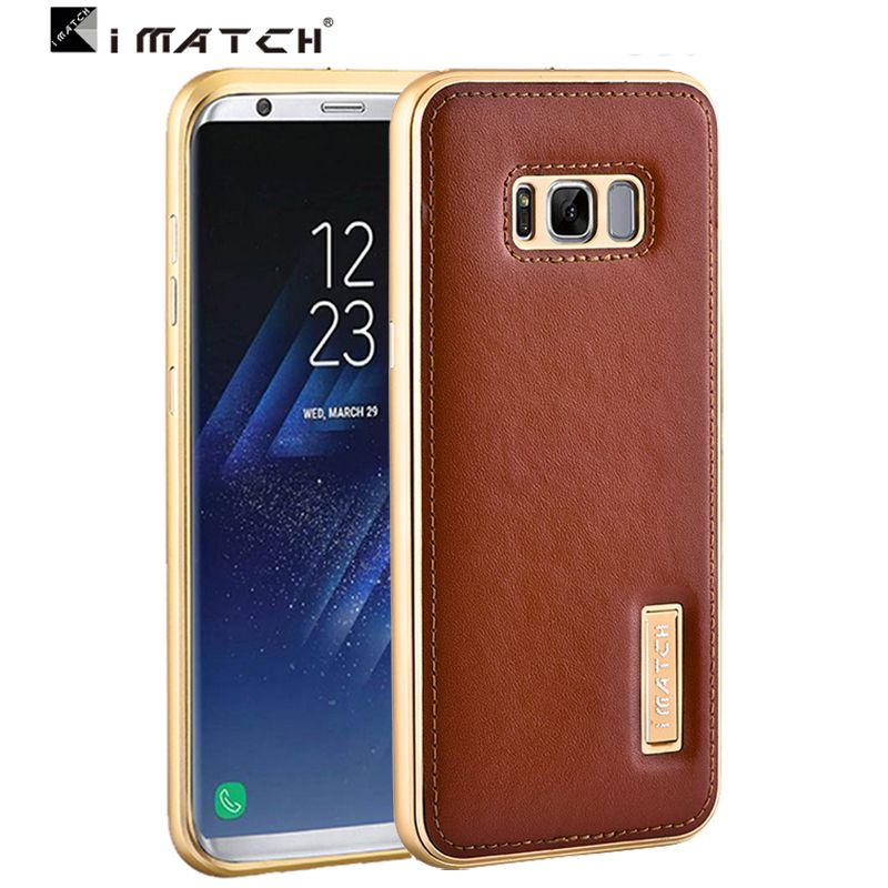 best website 3b075 a149e For Galaxy samsung S8 plus case,Superior Quality Genuine Leather ...