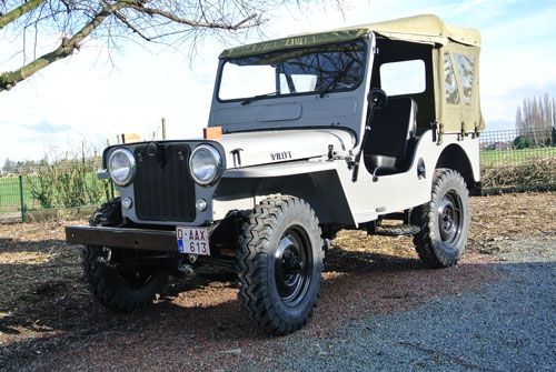 Willys CJ3A Photo submitted by Gerrit Seys. Willys CJ