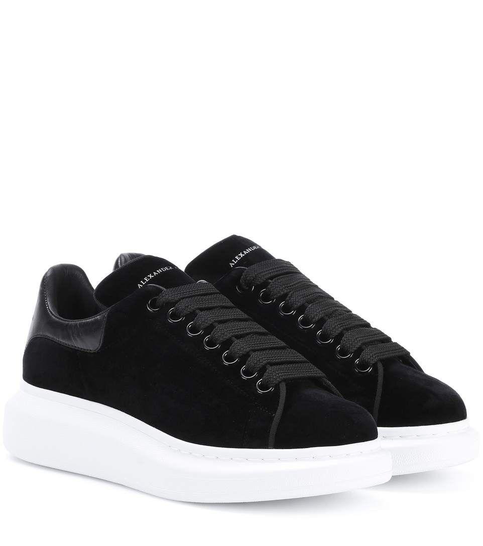 04994cd5 ALEXANDER MCQUEEN Velvet Sneakers. #alexandermcqueen #shoes #sneakers