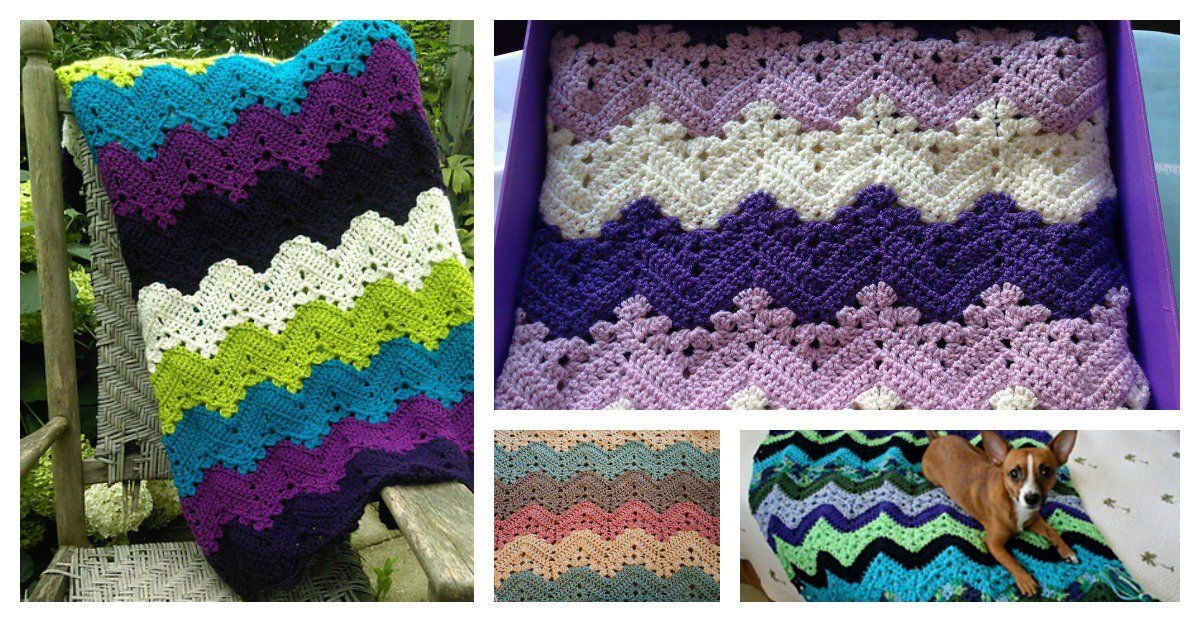 6-Day Kid Blanket Free Crochet Pattern and Video Tutorial | Colchas ...