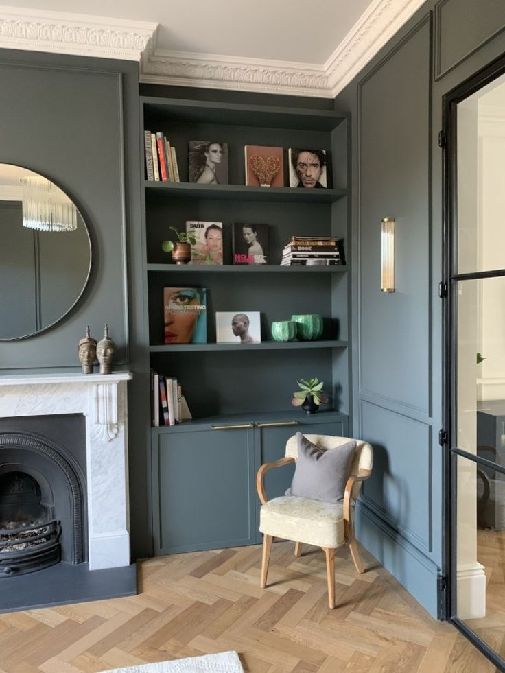 19th Century Drawing Room: The Renovation Of A 19th Century Home In Colour
