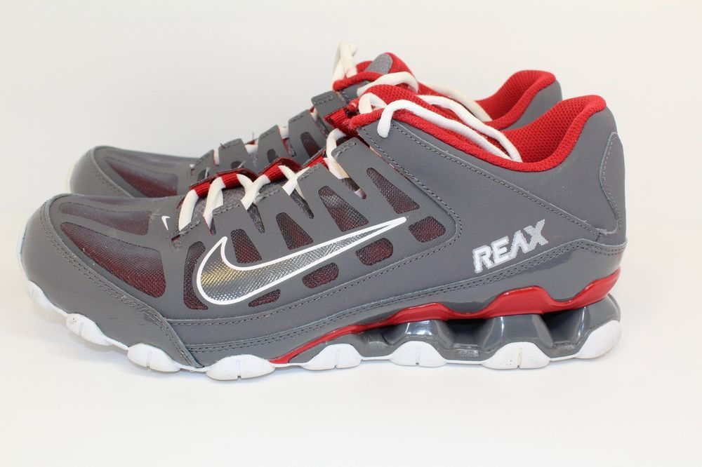 Nike Reax Training Dark Gray Gym Red 621716 013 Men s Size 9 AS101113   fashion  clothing  shoes  accessories  mensshoes  athleticshoes (ebay link) 6f41ebe56