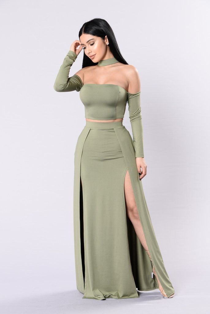Iu0026#39;m Into You Set - Sage | Fashion Clothes and Prom