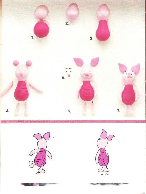 Piglet - For all your cake decorating supplies, please visit craftcompany.co.uk