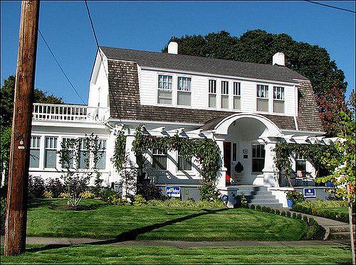 1920s Dutch Colonial Revival Houses Dutch Colonial