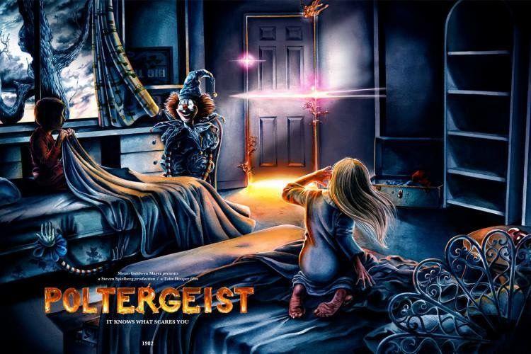 Poltergeist (1982) | Alternative movie posters, Poltergeist, Horror movie  art