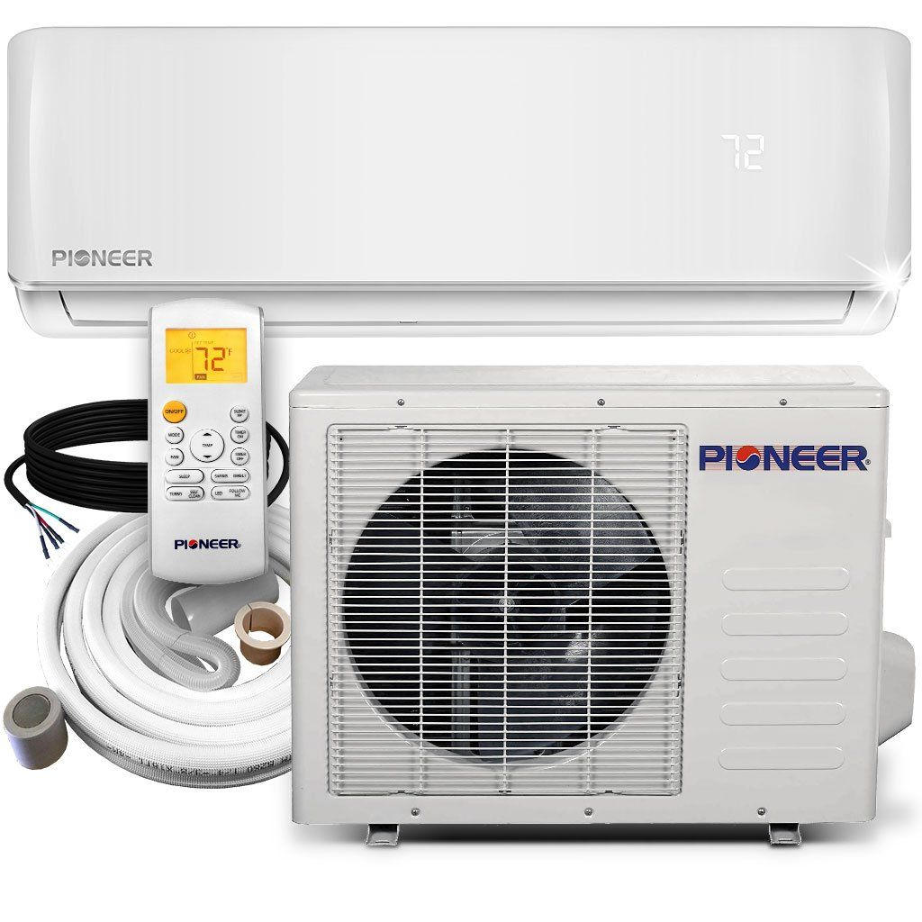 Pioneer® 12,000 BTU 19 SEER 115V Ductless MiniSplit Air