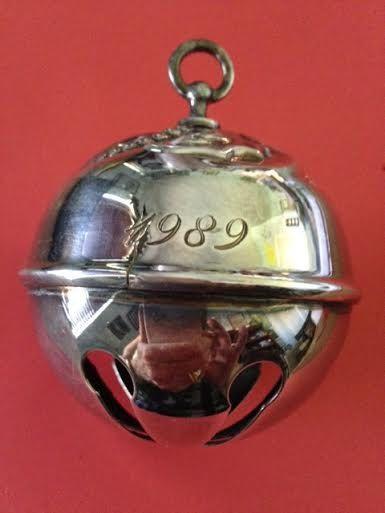 Reed & Barton Collectible Silver Sleigh Bell by VintageIdahoGirl