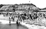 Photo of The Bathing Beach 1925, Bournemouth