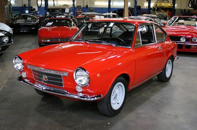Feisty Fiat 1967 Abarth Otr 1000 For Sale Voiture Fiat 850