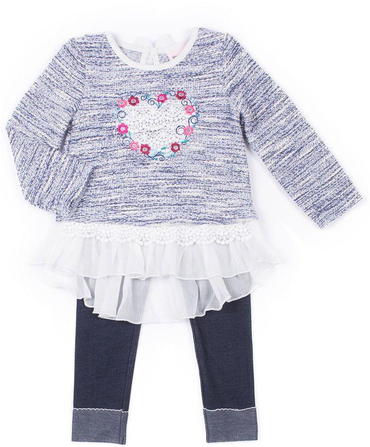 fcfb5ff6db850 Little Lass 2-pc. Legging Set-Baby Girls | Toddler girl clothes ...