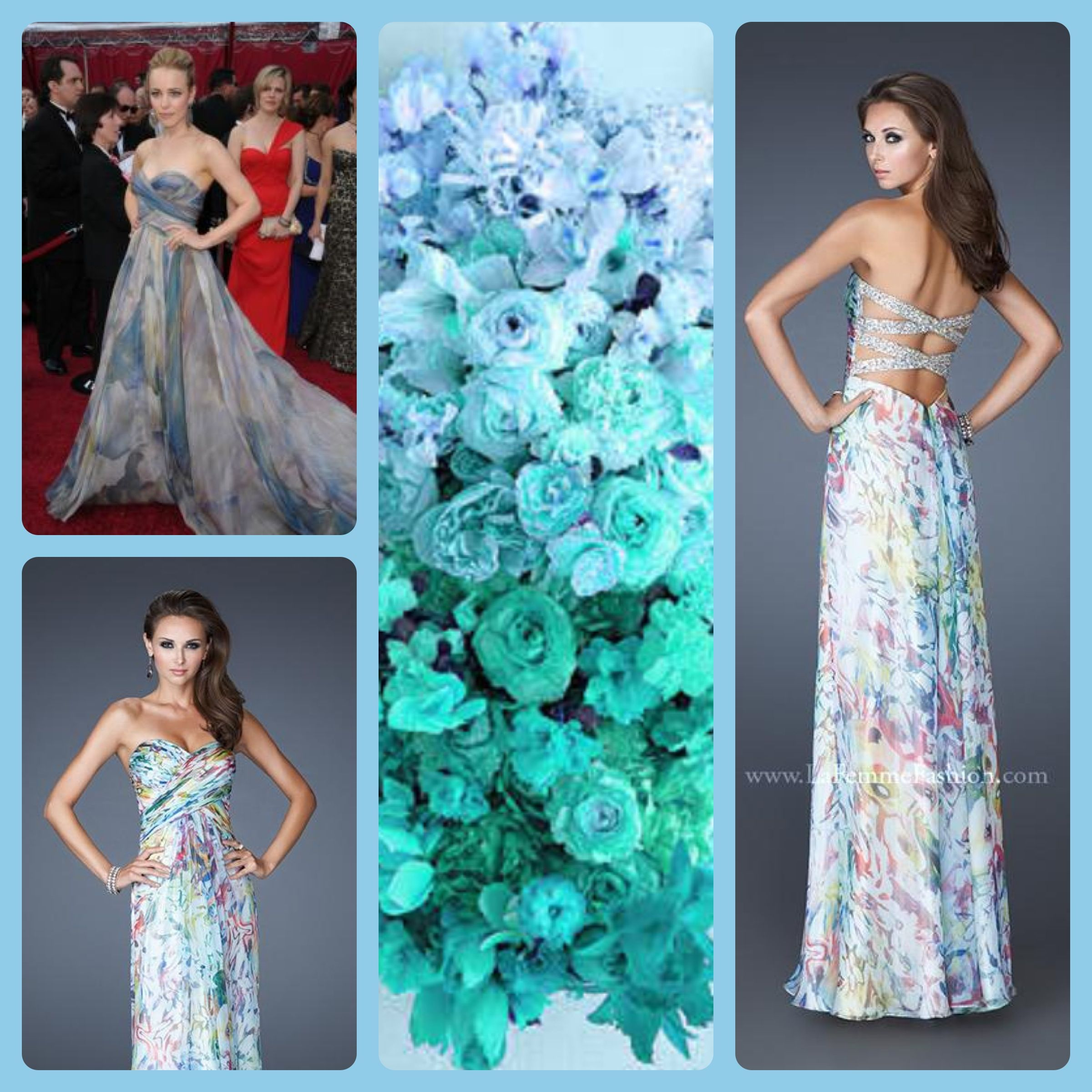 La Femme style 19133 - floral print - prom dress - homecoming dress ...
