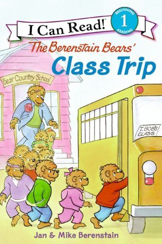 Paperback 3 99 The Berenstain Bears Class Trip I Can Read