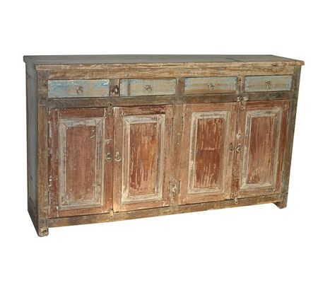 Distressed Buffet Cabinet Distressed Buffet Cabinet Or Console Shop Nectar Home Of Fair Trade Wooden