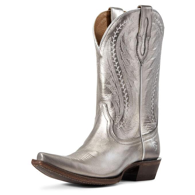 Tailgate Western Boot #metallicleather