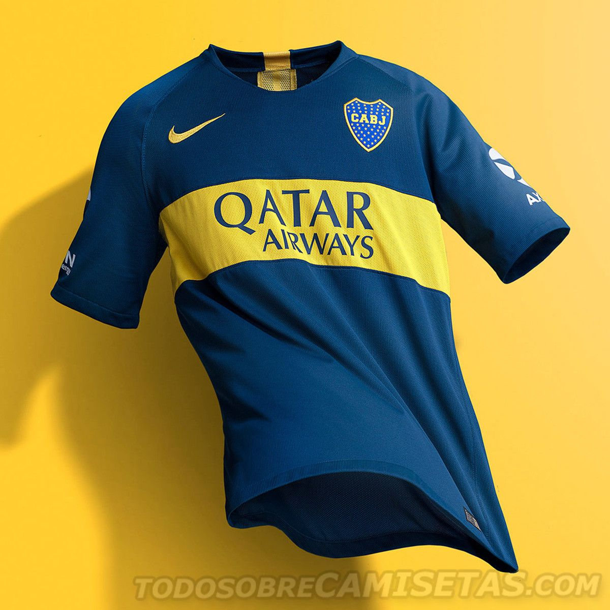 b35f8b3836c Camisetas Nike de Boca Juniors 2018-19