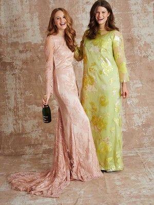 123-032016-B, burda style, Kleid mit Schleppe, Nähen, DIY | Nähen ...