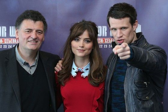 'Doctor Who's Steven Moffat's Recent Russell T. Davies Comments Are Actually Pretty Sweet wisely words!