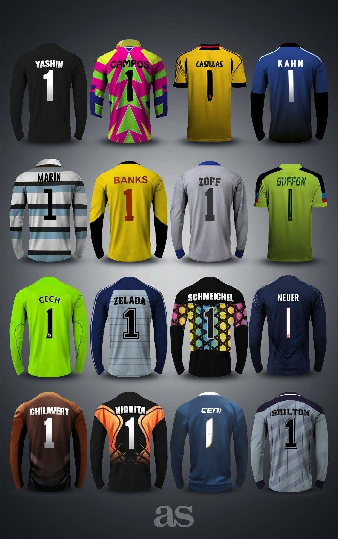 Grandes Guantes De Futbol Camisetas De Arquero Arquero De Futbol