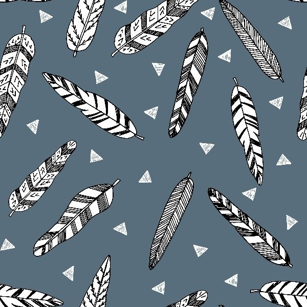 Inky feathers payne's grey – Lelastof