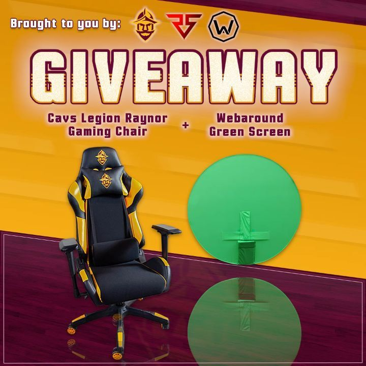 Outstanding Cavs Legion Gaming Chair Webaround Greenscreen Giveaway Squirreltailoven Fun Painted Chair Ideas Images Squirreltailovenorg